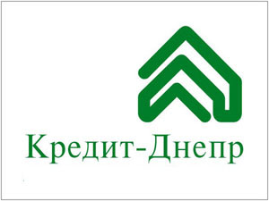 "Логотип банка ""Кредит Днепр"""