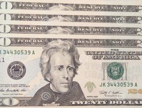 20 долларов - наиболее подделываемая купюра