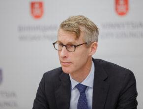 Йоста Люнгман, представитель МВФ в Украине