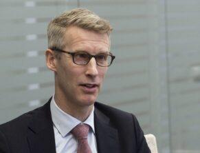 Йоста Люнгман, глава МВФ